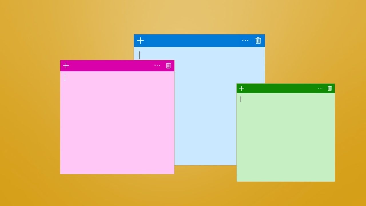 how to get sticky notes on windows 8 desktop