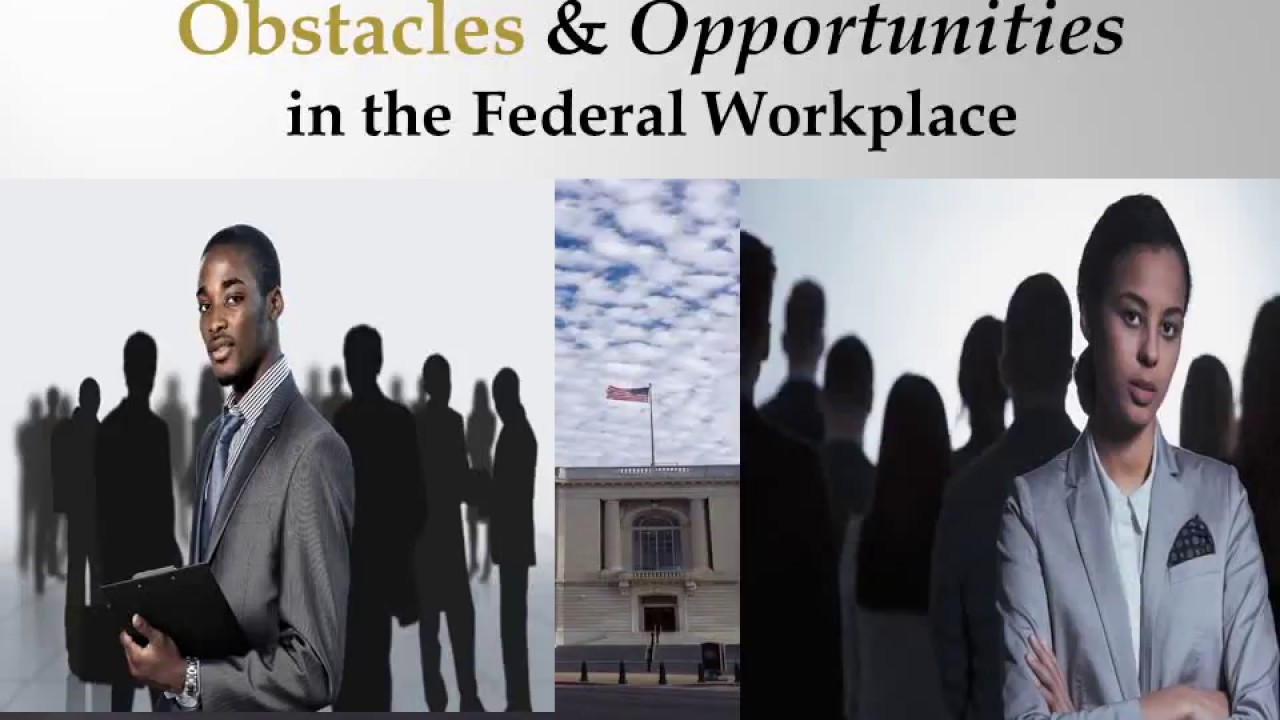YOU BETTER RECOGNIZE: Obstacles and Opportunities in The Federal Workplace