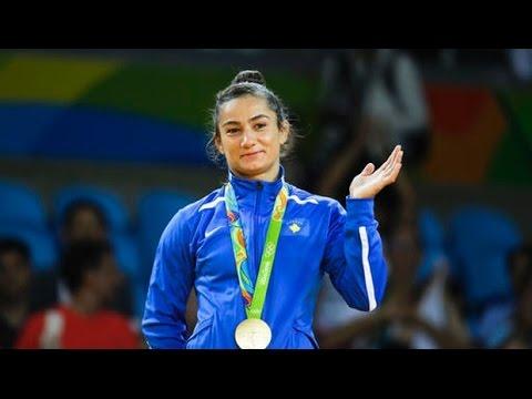 Kosovo's first Olympic Champion- Majlinda Kelmendi - YouTube