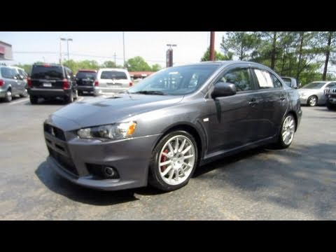 2008 Mitsubishi Lancer Evolution GSR Start Up, Exhaust, And In Depth Tour    YouTube
