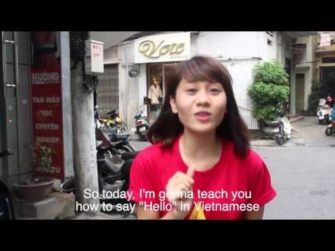 """VPY41 - How to say """"Hello"""" in Vietnamese"""