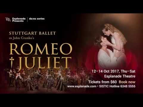 da:ns series | Stuttgart Ballet in John Cranko's Romeo & Juliet (12–14 Oct 2017)