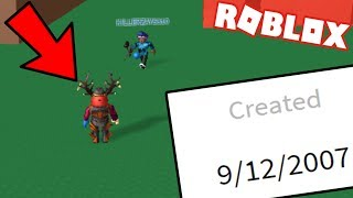 PLAYING 10 YEAR OLD ROBLOX GAMES