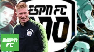 Best attacking midfielders of 2018: Man City players dominate   ESPN FC 100