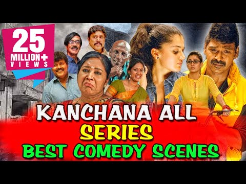 Kanchana All Series Best Comedy Scenes | South Indian Hindi Dubbed Best Comedy Scenes