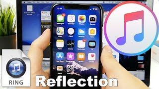 The iphone x got a limited edition ringtone (reflection) that no other model of has. today i'm going to show you guys how get ringtone...