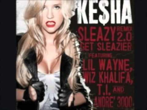 kesha ft wiz khalifa, andree 3000, ti, lil wayne sleazy (remix 2.0) clean m4v