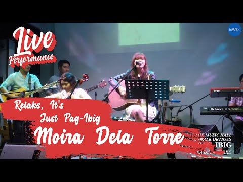 Moira Dela Torre | Relaks, It's Just Pag-Ibig | Live at Metrowalk