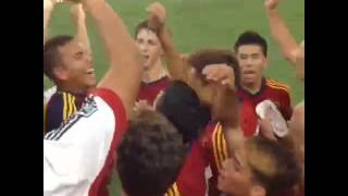 U-15/16 Academy Finals: Real Salt Lake-Arizona Academy Players Sing