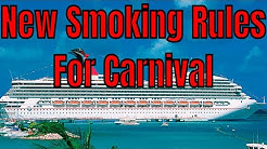 Carnival Cruise Lines Announces A Strict New Non Smoking Policy