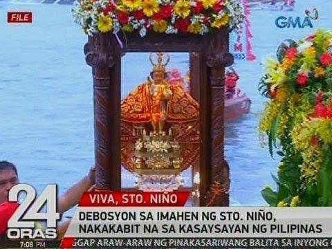 24 Oras: Debosyon sa imahen ng Sto. Niño, nakakabit na sa kasaysayan ng Pilipinas