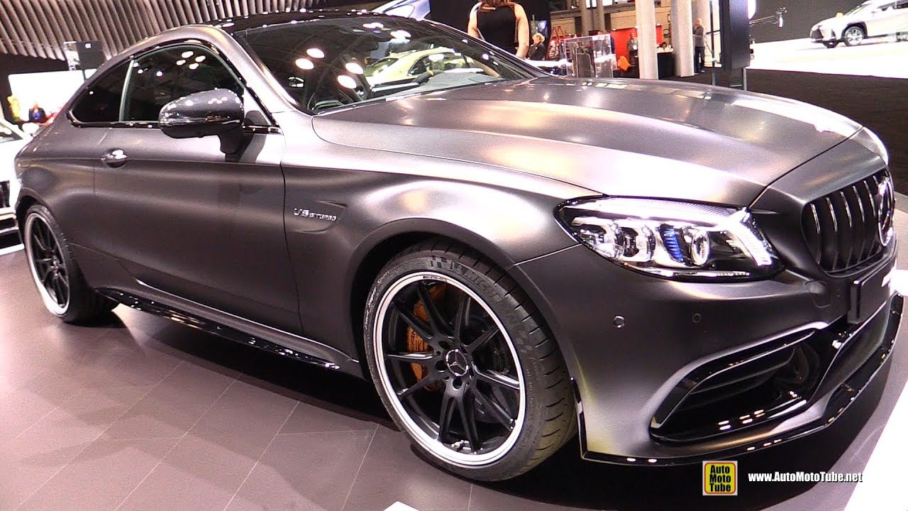 2018 Mercedes Amg C63 S Coupe Exterior And Interior Walkaround