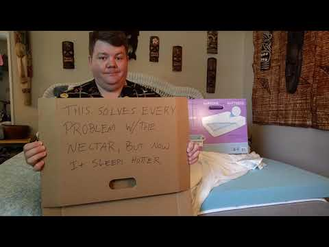 Fat Guy Reviews The Novaform 3 Inch Gel Memory Foam Mattress Topper