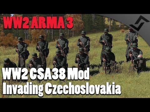 WW2 ARMA 3 - CSA 38 Mod - Invading Czechoslovakia - ARMA 3 WW2 Mod