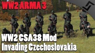 ww2 arma 3 csa 38 mod invading czechoslovakia arma 3 ww2 mod