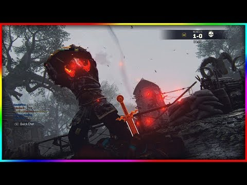 [For Honor] THE BEST MASK OUTFIT YET! BATTLE SWINE