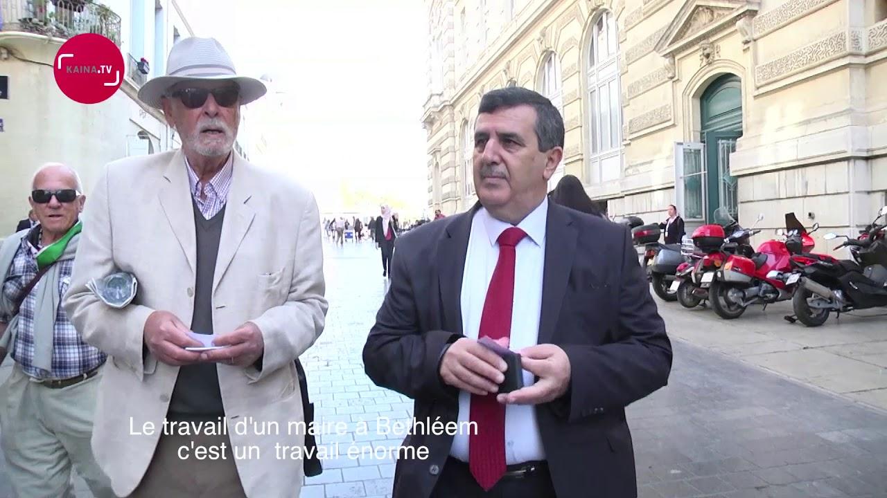 Le maire Bethleem à Montpellier