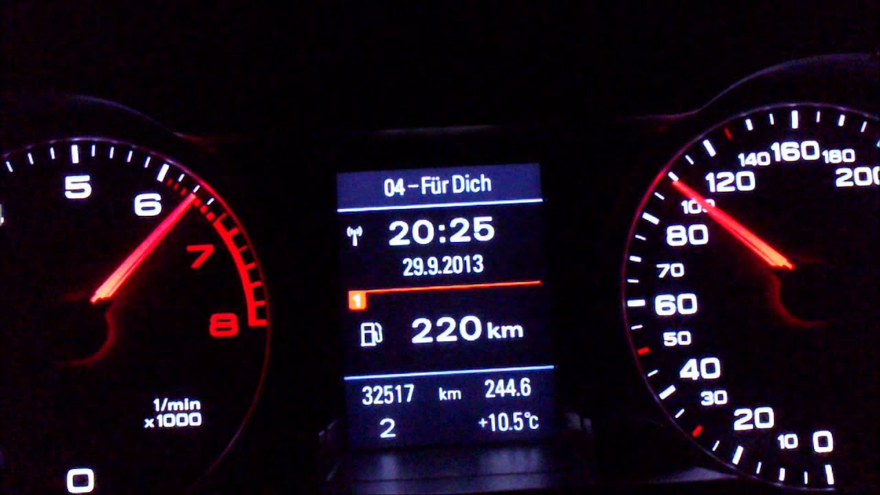 Audi A4 B8 1 8t Mtm Chipped 215ps 0 190 Km H Acceleration