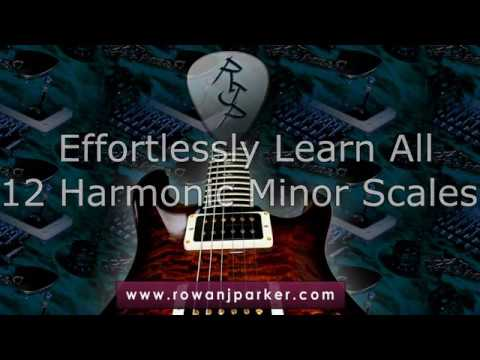 Music Theory  Effortlessly Learn All 12 Harmonic Minors Scales!