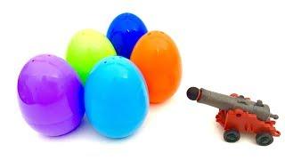 Fun with Surprise Eggs  huevo sorpresa  Jajko Niespodzianka  Świnka Peppa, Myszka Miki