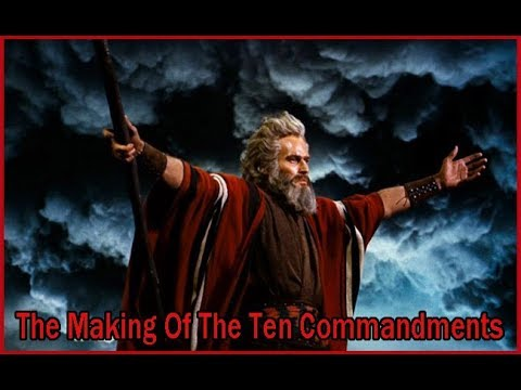 The Making Of The Movie 'The Ten Commandments' (1956)