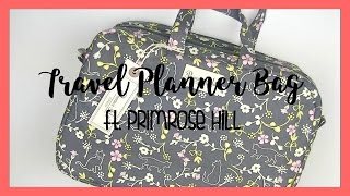 What's in my travel planner bag?