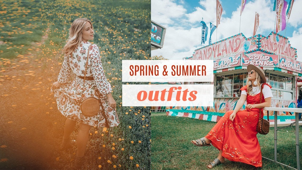Dandelion Carnival —  SPRING & SUMMER OUTFITS!