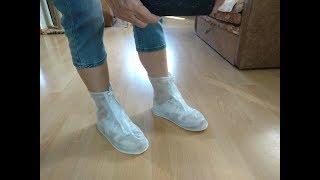 обзор непромокаемых ботинок с Алиэкспресс