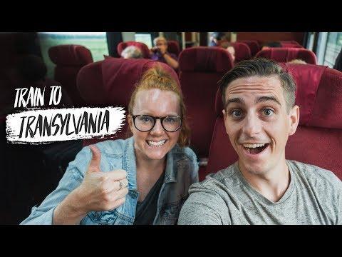 First Class Train Ride ACROSS ROMANIA to TRANSYLVANIA! (Bucharest 🚆 Sibiu)