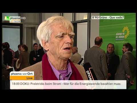Grünen-Fraktionsspitze: Hans-Christian Ströbele (Grüne) im Interview am 08.10.2013