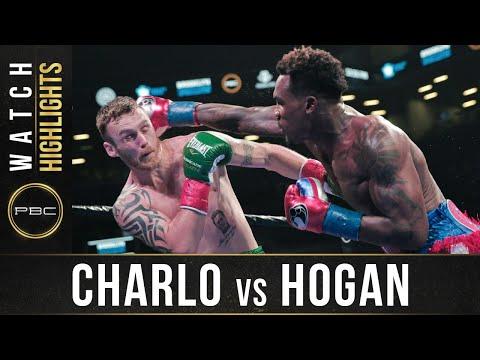 Джермалл Чарло - Деннис Хоган / Jermall Charlo vs. Dennis Hogan - highlights