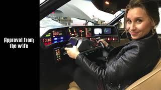 Knight Rider Replica full restoration video