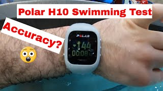 Polar H10 in the Pool ! Is it better than H7 Heart Rate Monitor? Pool Test