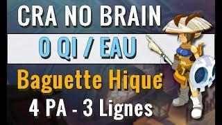 [ PVP ] CRA NO BRAIN - FULL EAU 0 QI - BAGUETTE HIQUE ! LES BONS COUPS DE BAGUETTE EN 1V1 !