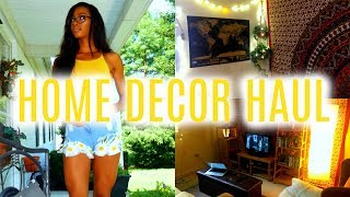 College Apartment/Dorm Home Decor Haul! 2017 | Newchic • Lawenwoss