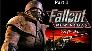 fallout new vegas part 1: The Adventure in the mojave desert