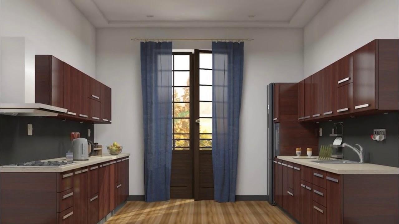 Parallel Mmodular Kitchen Furniture Design India Youtube
