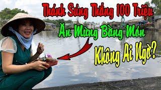 """""""Thánh Súng"""" Phạm Ngân Thảo Thắng 100 Triệu Thách Thức Danh Hài - Vợ Chồng Hai Lúa Làm Điều Bất Ngờ?"""