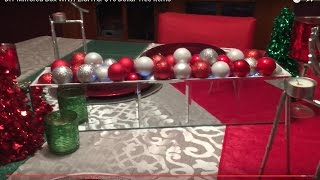 DIY Mirrored Box WITH LIGHTS: $16 Dollar Tree Items | Angie's Life