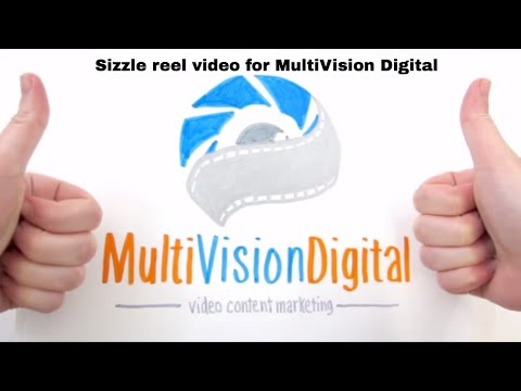 MultiVision Digital Sizzle Reel | video production NYC | corporate online video marketing NY
