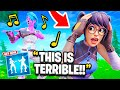 I Trolled My Girlfriend With The HEY NOW Emote... Fortnite