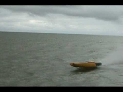 72 inch Capricorn RC Gas Boat