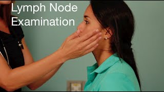 lymph node examination head and neck