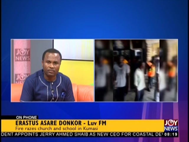 Fire Razes Church And School In Kumasi - AM Show on JoyNews (19-10-18)