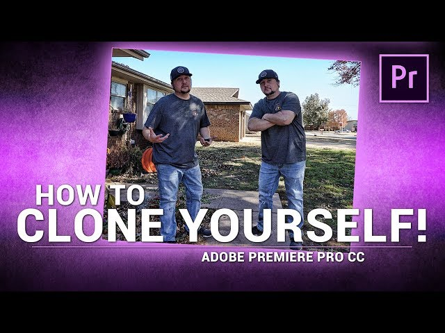 Adobe Premiere Pro / How to CLONE YOURSELF! (Tutorial)