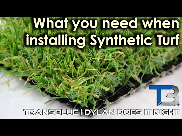 Everything You Need When Installing Artificial Turf | Transblue Does it Right