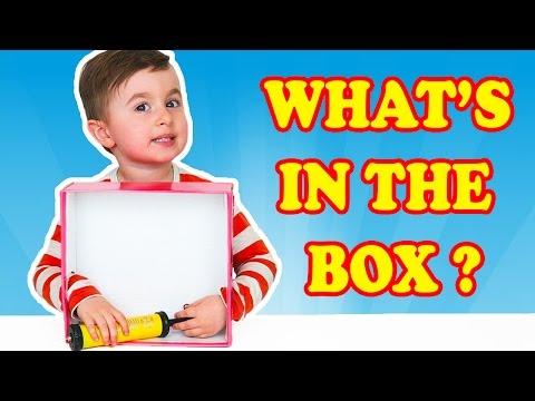CE ESTE IN CUTIE? Provocare cu Alex What's in the Box Challenge