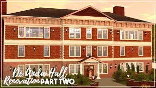 The Sims 3 | Speed Renovation | De Anda Hall: Part Two