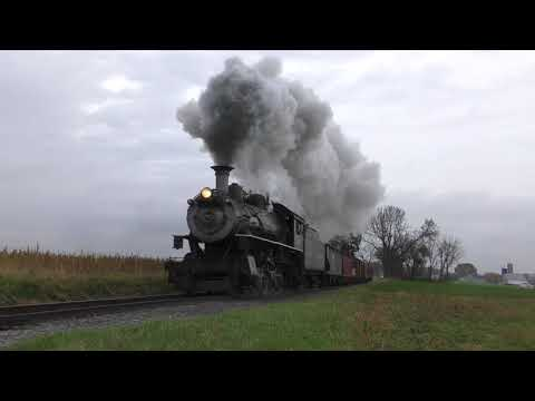 Strasburg Railroad Lerro Photo Charter Norfolk Western 382 steam freight train