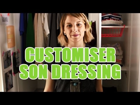 id es d co par youmakefashion customiser son armoire et organiser son dressing youtube. Black Bedroom Furniture Sets. Home Design Ideas